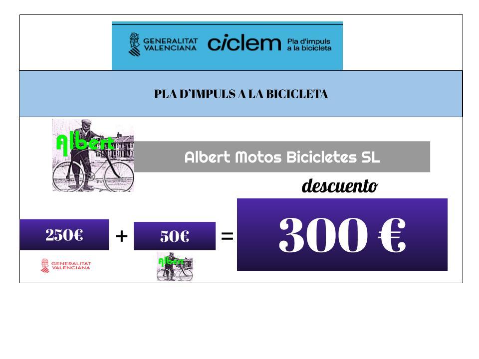 Pla d'impuls a la bicicleta